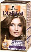 Diadem Seiden-Color-Creme, 717 Hellbraun, 3er Pack (3 x 142 ml)