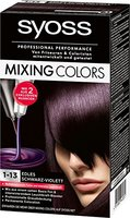 Syoss Mixing Colors Coloration 1-13 Edles Schwarz-Violett, 3er Pack (3 x 135 ml)