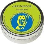 Greendoor Fussbalsam mit BIO Kakaobutter, Fusscreme & Schrundensalbe, 4-fache Ergiebigkeit, Naturkosmetik, Fuß Balsam