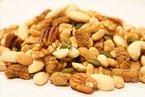 """Edle Nussmischung, natur - Paranuss, Pekannuss, Pistazien, Walnuss, Erdnüsse, Preiselbeeren, Maulbeeren, Cashewkerne, Mandeln, Haselnuss - Naturbelassen ohne Zusatzstoffe - Nüsse - Kerne, """"PREMIUM QUALITÄT""""- 1001 Frucht - EXCLUSIVE - Nüsse - Trockenfrüchte - Gewürze - 250 GR"""