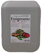 Essig-Essenz 25% Säure, 10kg Kanister. Ergibt 50 Liter Tafelessig 5% od. 25L 10%