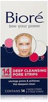 Face & Nose Tiefenreinigung Pore Strips von Biore f-r Unisex - 14 Pc 7 Gesicht Pore Strips, 7 Nase Pore Strips