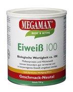 Megamax Eiweiss Neutral. Molkenprotein + Milcheiweiß mit Biologischer Wertigkeit ca. 100. Für Muskelaufbau und Diaet. Inhalt: 750 g
