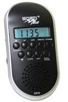 Security Plus Fahrrad Radio BR 28, Schwarz-Silber, 14001101