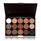 Yogogo 15 Farben Frauen Kosmetik Make-up Neutral Nudes Warm Lidschatten Palette