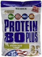 Weider 80 Plus Protein, Pistazie (1 x 500 g)