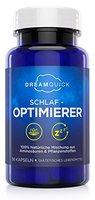 DreamQuick Schlaf-Optimierer | Natürlich wirksame Ein- und Durchschlafhilfe mit Pflanzenstoffen und Amino-Derivaten | 56 vegane Kapseln