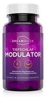 DreamQuick Tiefschlaf Modulator - Pflanzliche Harmonisierung der Schlafarchitektur zur Verlängerung der Tiefschlafphase - 50 vegane Kapseln mit konzentriertem Extrakt aus Schlafbeeren