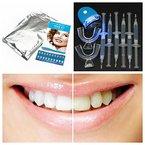 Lucky Fine Zahnaufhellung Zahnweiß Power Kit Zahnaufhellung Bleaching-Gel Weiße Zähne Zahnbleaching
