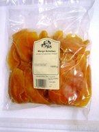 Mango Streifen ungeschwefelt, gezuckert, Beutel à 1 kg