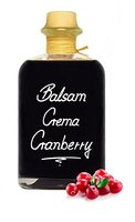 Balsam Crema Cranberry 0,5L 3% Säure Mit original Crema di Aceto Balsamico di Modena IGP.
