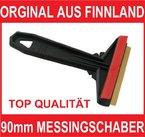 Eiskratzer Eisschaber Messingklinge Orginal aus Finnland 100% Qualität (90mm)