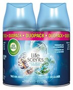 Air Wick Life Scents Freshmatic Max Automatisches Duftspray Nachfüller Duopack Tag am Meer, 1 Stück (2x250ml)