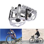 Ondeni Silber Fahrradpedale Kugellager für Mountainbike Road Rennrad (Type B)