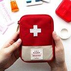 EQLEF®  1 Stück Mini beweglicher im Freien Reisetasche Medizinische Erste-Hilfe-Kit Bag Verpackung Drug