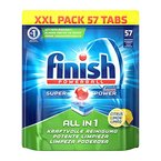 Finish All in 1 - Lemon, XXL Pack, 1er Pack (1 x 57 Tabs)
