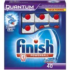 Finish Quantum Spülmaschinentabs, 1er Pack (1 x 40 Tabs)