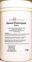 Sauna Peelingsalz Extra / Saunasalz 1,0 kg Dose - 100% naturrein aus dem Toten Meer - TOPSELLER