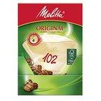 Melitta Filtertüten 102/80 naturbraun Aroma, 9er Pack (9 x 80 Stück)