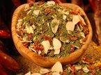 Peperoncino Aglio Olio Gewürzmischung, grob, scharfe italienische Spezialität, ohne Salz, ohne Geschmacksverstärker, 100g