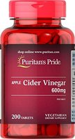 Apfelessig 600mg - Apple Cider Vinegar - 200 Tabletten