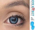 Graue Kontaktlinsen - farbige / bunte Kontaktlinsen als Jahreslinsen ohne Stärke graue Kontaktlinsen Jahreslinsen+ gratis Behälter
