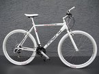 "28"" Alu RACING Speed Bike Fitnessbike SHIMANO 21 Gang CROSS Fahrrad white"