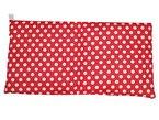 Minaryc Kirschkernkissen Rot mit weißen Punkte gepunktet versch. Größen Wärmekissen (ca. 40x20cm)