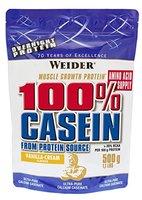 Weider Day & Night Casein Protein, Vanille-Sahne (1 x 500 g)