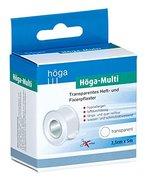 Höga-Multi, transparentes Heft- und Fixierpflaster - 2,5 cm x 5 m - 2er-Pack.