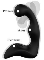 Proxoxo Prostata Massage Medizinischem Silikon Vibratoren Perineum Stimulator Vorsteherdrüse Anal Vibrator,Anal Butt Plug Analvibratoren Masturbation Sex-spielzeug für Männer