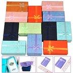 Yahee 12x Geschenkbox Geschenkkarton Aufbewahrungsbox Schachtel Schleife Case Schmuck Box