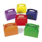 Faltboxen Geschenkboxen bunt für Gastgeschenke und Mitgebsel 12 Stück Palandi®