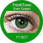 """Farbige Kontaktlinsen Monatslinsen grün """"Ever green"""" ohne Stärke mit Aufbewahrungsbehälter"""
