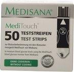 Medisana MediTouch Teststreifen für Blutzuckermessgerät 790272, 25 Stück