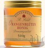 Orangenblüten Honig, lieblich, blumig wie Orangenblüte, kaltgeschleudert, unfiltriert, 500g