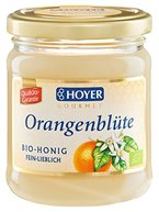 Hoyer Bio Orangenblütenhonig, 3er Pack (3 x 250 g)