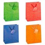 TSI 85011 Geschenkbeutel Laura, 12er Packung Größe: mittel 23 x 18 x 10 cm