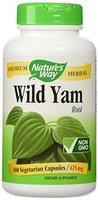 Nature's Way, Wild Yam (Yamswurzel), 425mg, 180 Veg. Kapseln