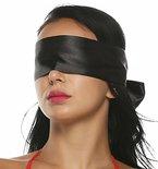 SM spielsatin Augenmaske maske Augenbinde BDSM Fetisch Bondage Sex Spielzeug für paare schwarz