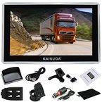 Kainuoa® 4,3 Zoll 8GB  Europe Traffic GPS Navi Navigationsgerät Navigationssystem mit kostenlosen lebenslangen Kartenupdates für ganz Europa Fahrspurassistent Sprachführung Blitzerwarnungen