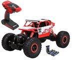 Top Race® Remote Control Rock Crawler RC Monstertruck 4WD,Ferngesteuertes Auto, Geländefahrzeug, Batterien 2,4Ghz, Batterien enthalten (TR-130)