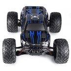2.4GHz 1:12 Ferngesteuerte Autos RC Monstertruck bis zu 50km/h schnell und 100 Meter Reichweite 9.6V 800mAh Akkupack (Blue)