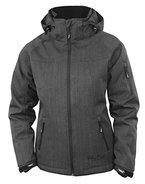 Fifty Five Damen Winterjacke | Outdoor-Jacke - Rankin anthracite 40 - FIVE TEX Membrane für Outdoor-Bekleidung