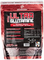 BWG Ultra Glutamin Pulver, 100% pur, Aminosäure, Premium Qualität, optimiert mit Vit.B6, 1er Pack (1 x 500g Beutel)