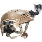 Ollivan® Gopro Kamera im Freien DV Zubehör Helm vorne Mount Kit schwarz für GoPro Hero, Hero2, Hero3, Hero3 +, Hero4