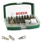Bosch DIY 32tlg. Schrauberbit-Set mit Farbcodierung