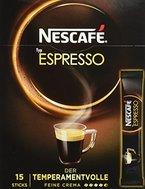 Nescafé Typ Espresso, Löslicher Kaffee, Faltschachtel mit 10x (15x1,8g) Sticks