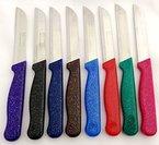 6 x Messer Solingen Mady in Germany Allzweckmesser Obstmesser Gemüsemesser Schälmesser - Sehr scharf