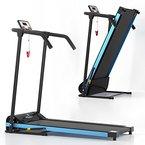 VitaliFit Laufband elektrisch Heimtrainer 500W LCD-Display Fitnessgerät klappbar